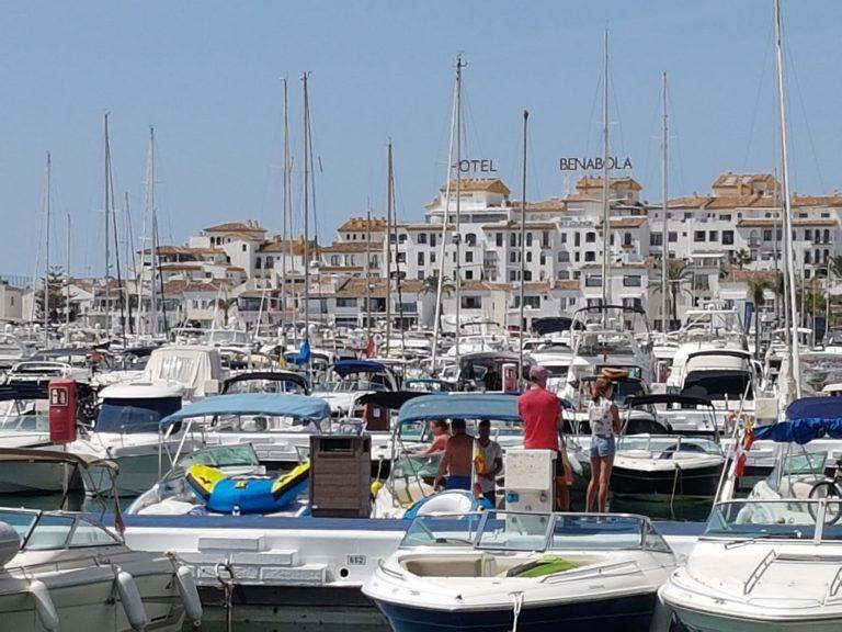 sailing in Marbella