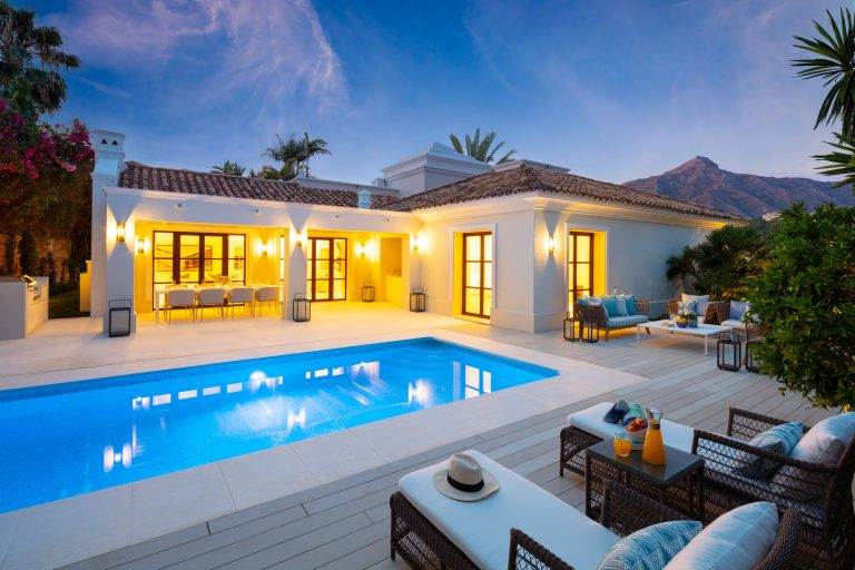 traditional homes in Marbella